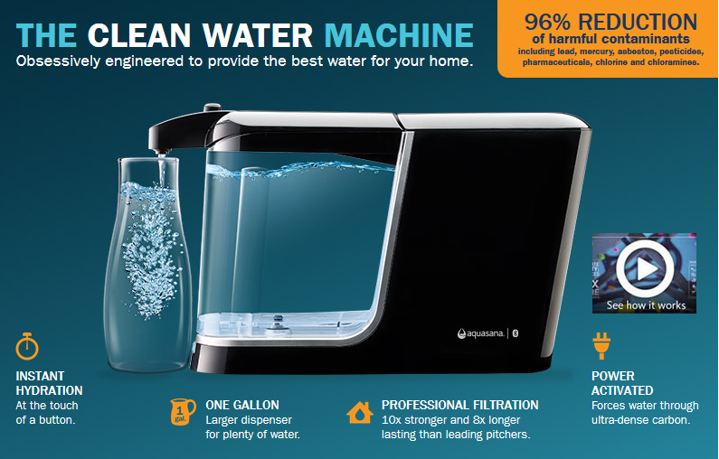 aquasana countertop water filter reviews